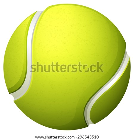 stock-vector-single-light-green-tennis-ball-illustration