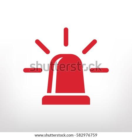 siren vector icon