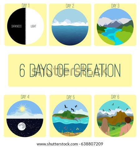 six days of creation genesis