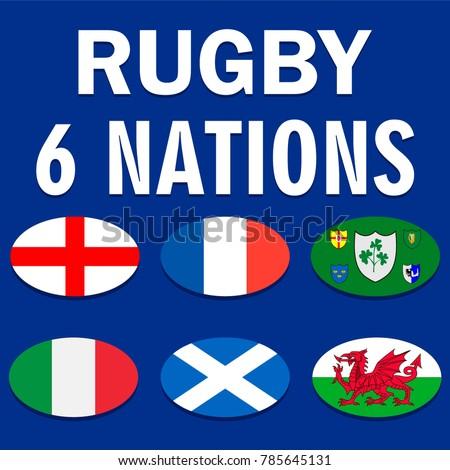 six nations championship card