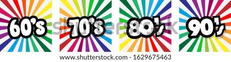 Sixties, seventies, eighties and nineties