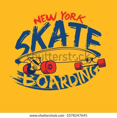 skate skateboard graphic