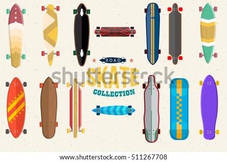 skateboard collection