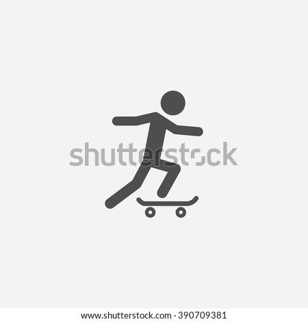 skateboard icon  skateboard