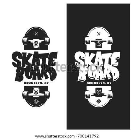 skateboarding t shirt design