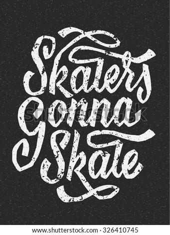 skaters gonna skate funny hand