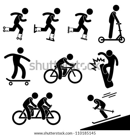 skating and riding activity