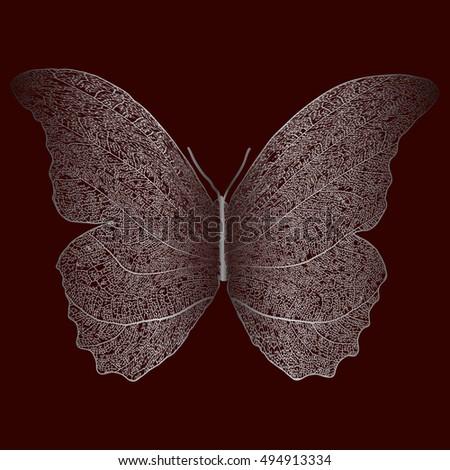 skeleton butterfly combined
