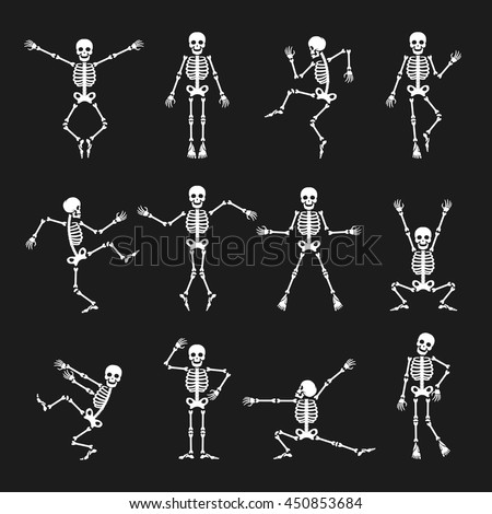 skeleton dance funny dancing