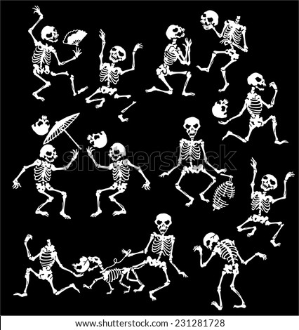 skeleton dances