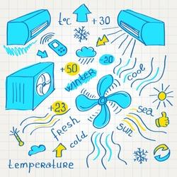sketch air conditioners fun