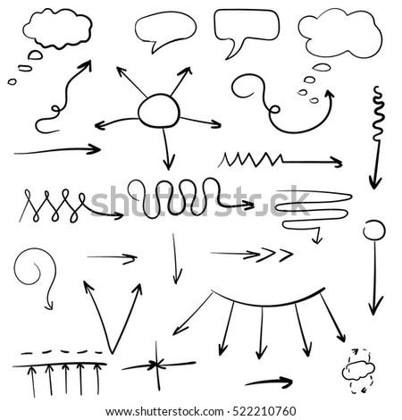sketch arrow set #522210760