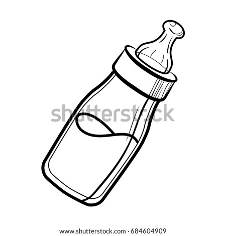 Sketch Baby bottle