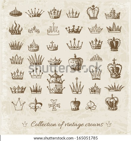 African king crown drawing - photo#18