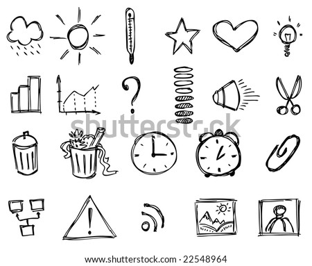 Sketch icons (Set 2)