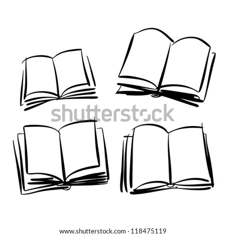 Sketch of books