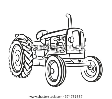 General Electric Tractor