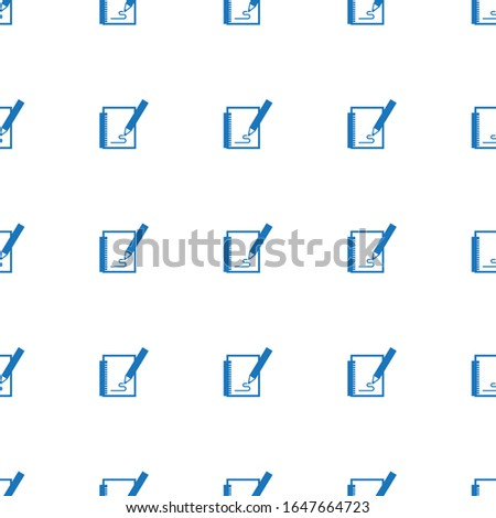 Sketching icon pattern seamless isolated on white background. Editable filled Sketching icon. Sketching icon pattern for web and mobile.