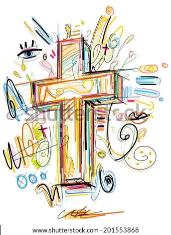 Sketchy Crucifix