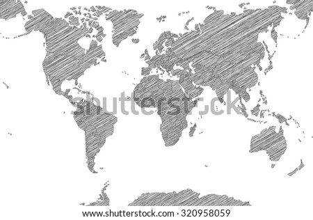 stock-vector-sketchy-map-of-the-world-32