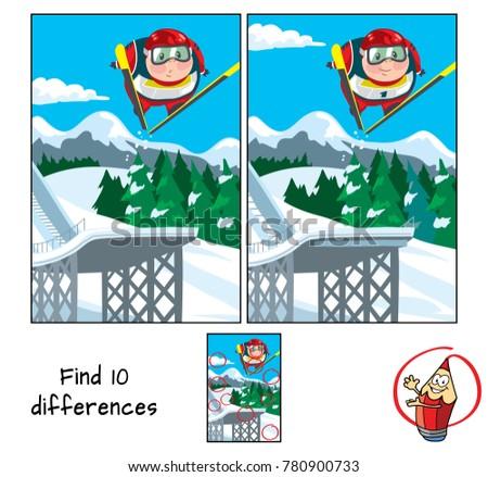 ski jumping find 10