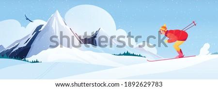 ski resort composition with