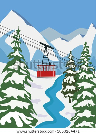 ski resort for vacation with