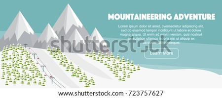 ski resort  mountaineering