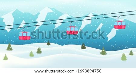 ski resort vacation winter