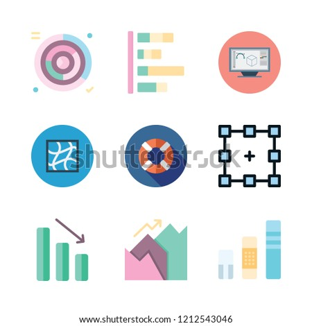 skill icon set. vector set about lifeguard, graphic tool, graphic design and graphic icons set.