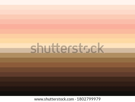 Skin tones striped pattern background ストックフォト ©