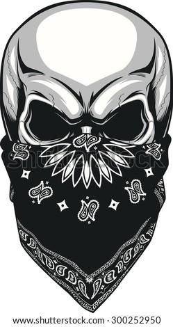 stock-vector-skull-bandana