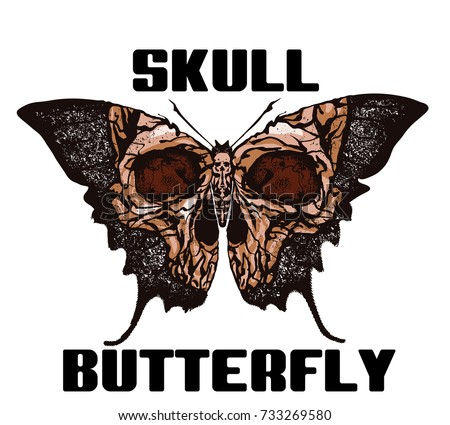 skull butterfly greater death