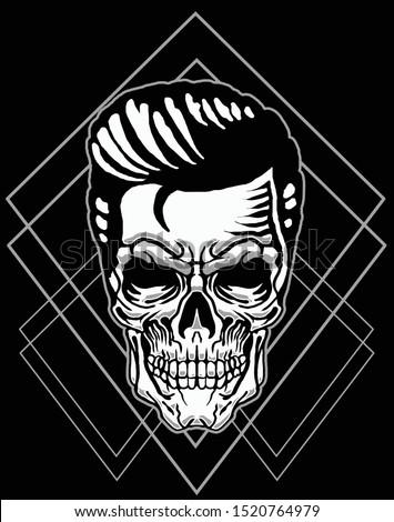 skull comedian with sacred geometryskull comedian with sacred geometry