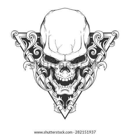 stock-vector-skull-illustration