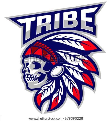 skull indian tribe native