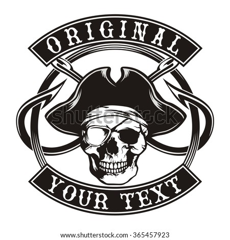 Pirates Logo Skull Royalty-free Pi...
