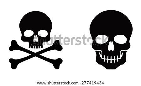 stock-vector-skull-vector-icon