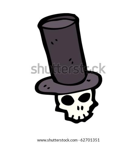 Skull Cowboy Hat Skull Wearing Hat Cowboy