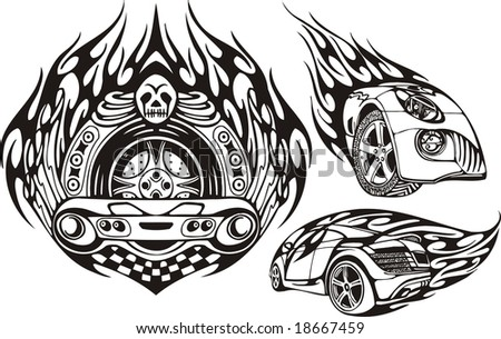 cars tribal for cars wheel graphics pictures. Black Bedroom Furniture Sets. Home Design Ideas