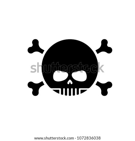 skull with bones emoji head of