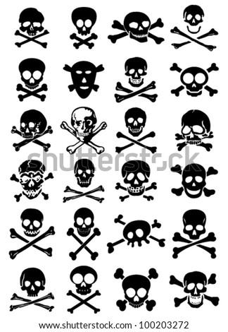 10+ skull and crossbones vectors | download free vector art