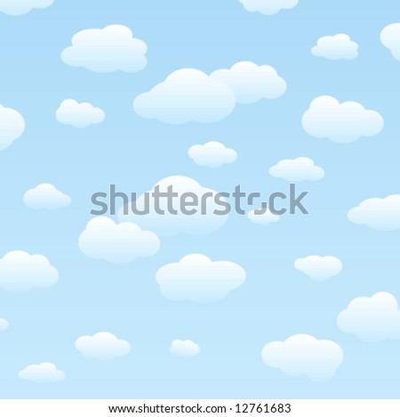 sky and clouds vector