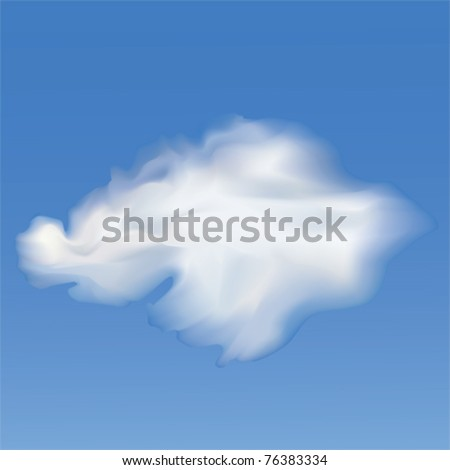 Sky And Clouds. Vector