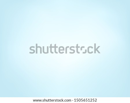 Sky blue clean gradient background. Vector illustration.