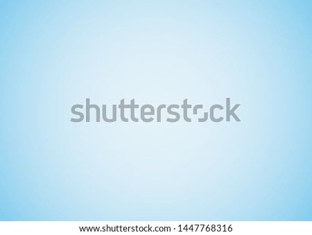 Sky blue gradient background. Vector illustration.