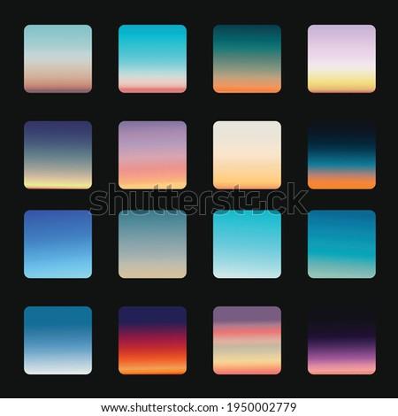 sky colours gradients pack