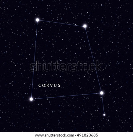 sky map with the name of the