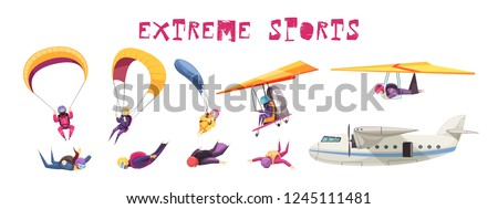 skydiving extreme sport