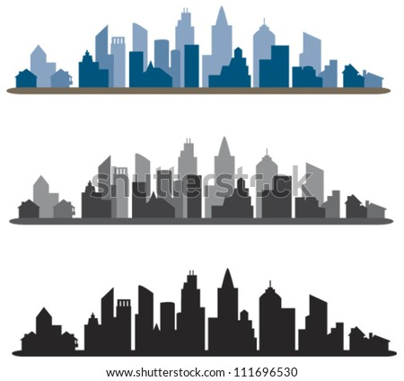 Skyline Design Element